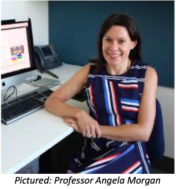 Photograph of Professor Angela Morgan
