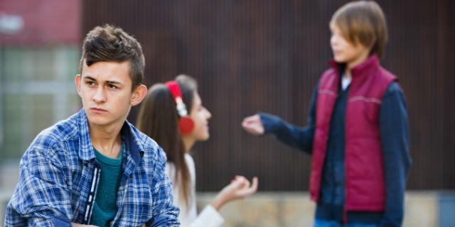 teens on street