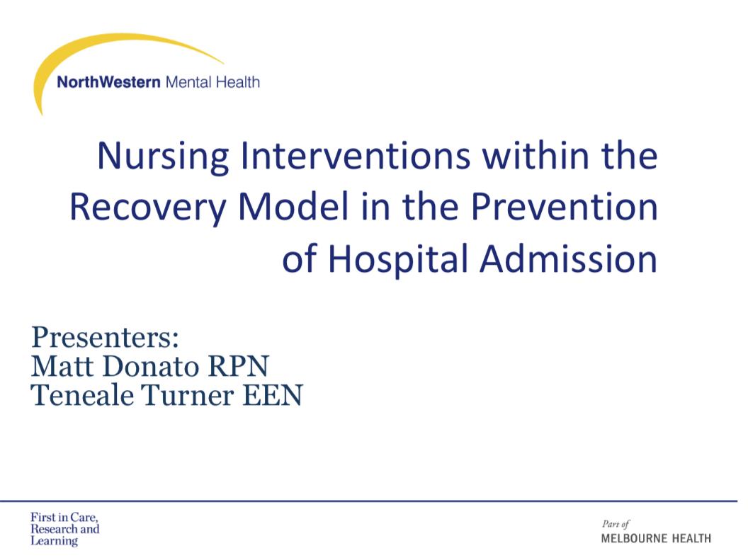 Donato/Turner-Nursing interventions