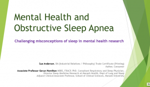 Mental health & sleep apnea