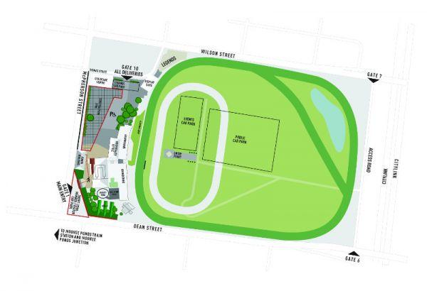 MVRC parking map