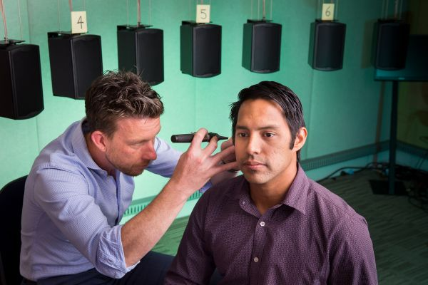 A hearing test