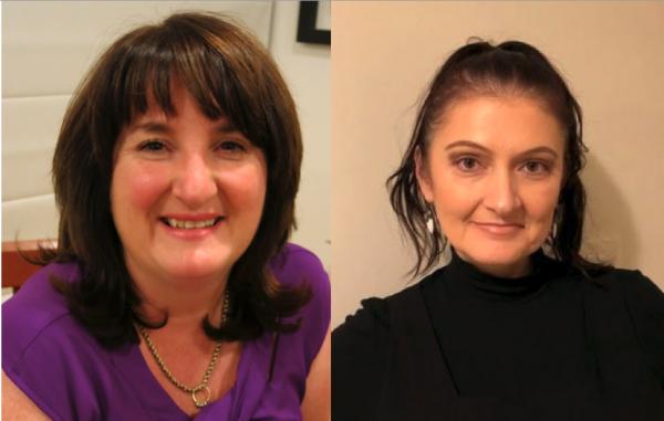 Head shots of Dr Debra Virtue and Dr Snezana Kusljic