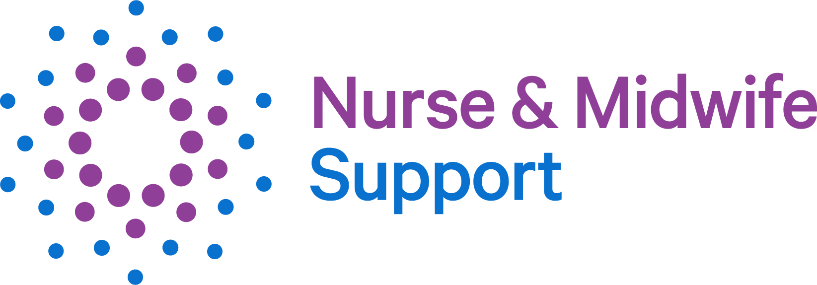 Nurse and Midwife Support Logo