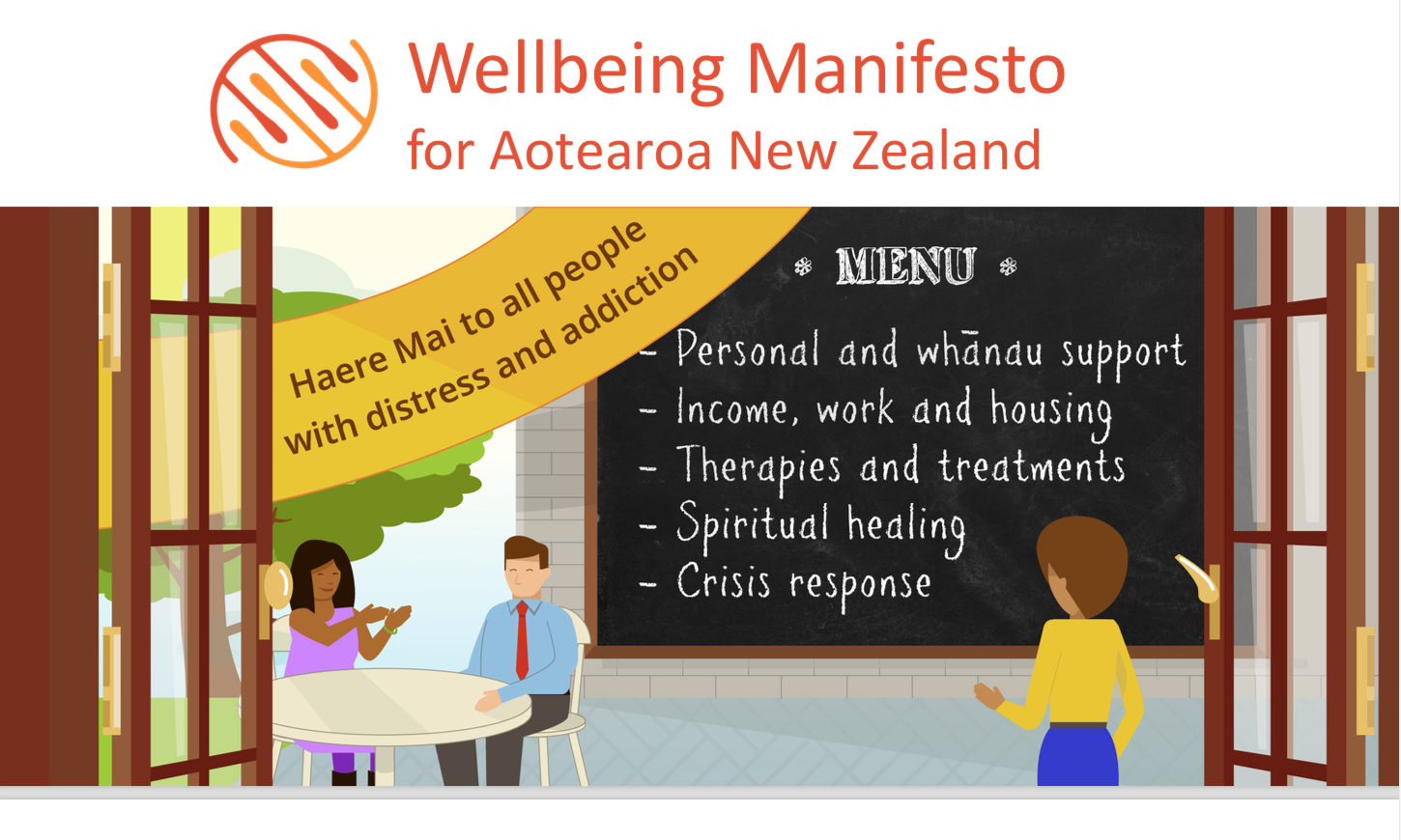 Mary O'Hagan Wellbeing Manifesto