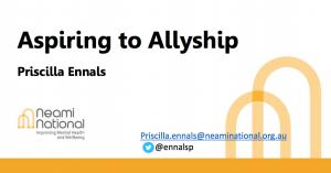 Aspiring to allyship