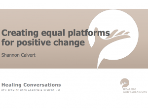 Creating Equal Platforms