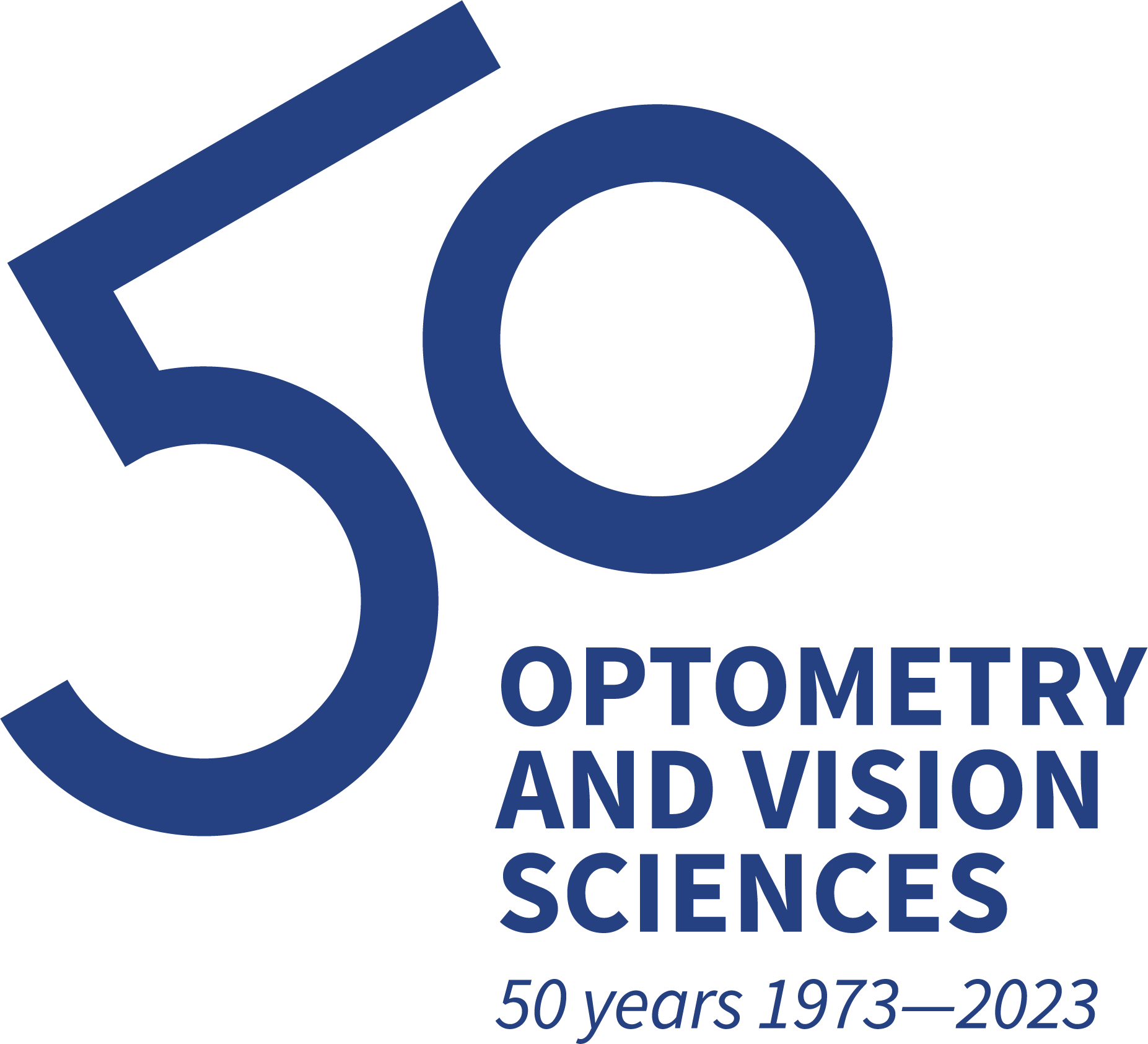 Reads: 50 (large). Optometry and vision sciences 50 years 1973-2023